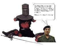The Black Knight always wins!
